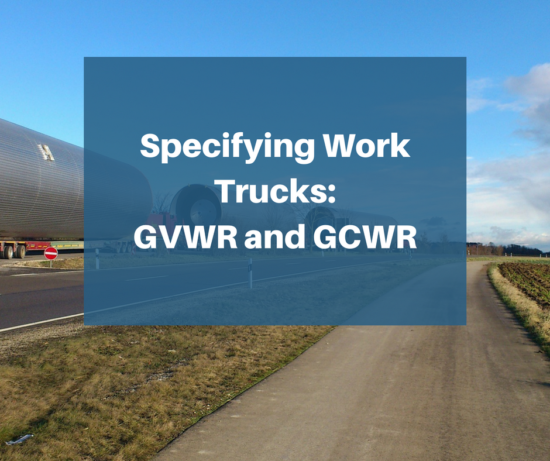 GVWR and GCWR for trucking